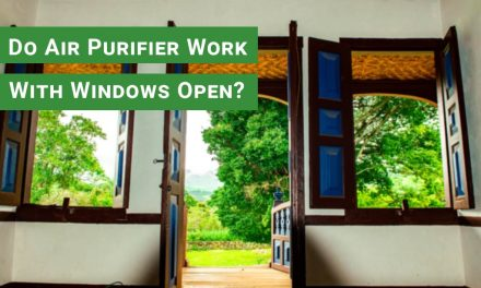 Do air purifiers work with windows open?