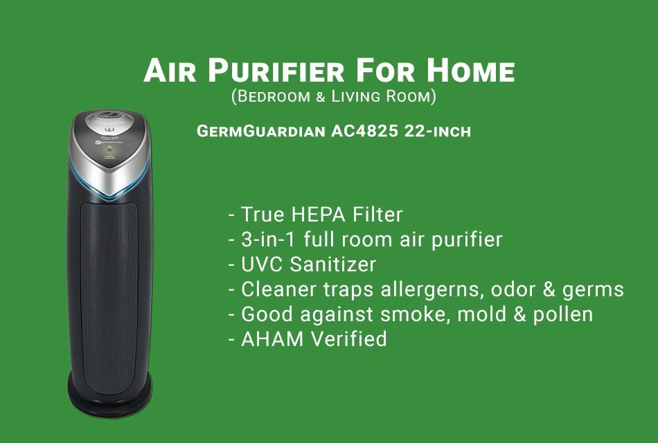 GermGuardian AC4825 22-inch Air Purifier Review