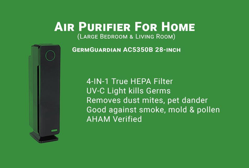 GermGuardian AC5350B Air Purifier Review